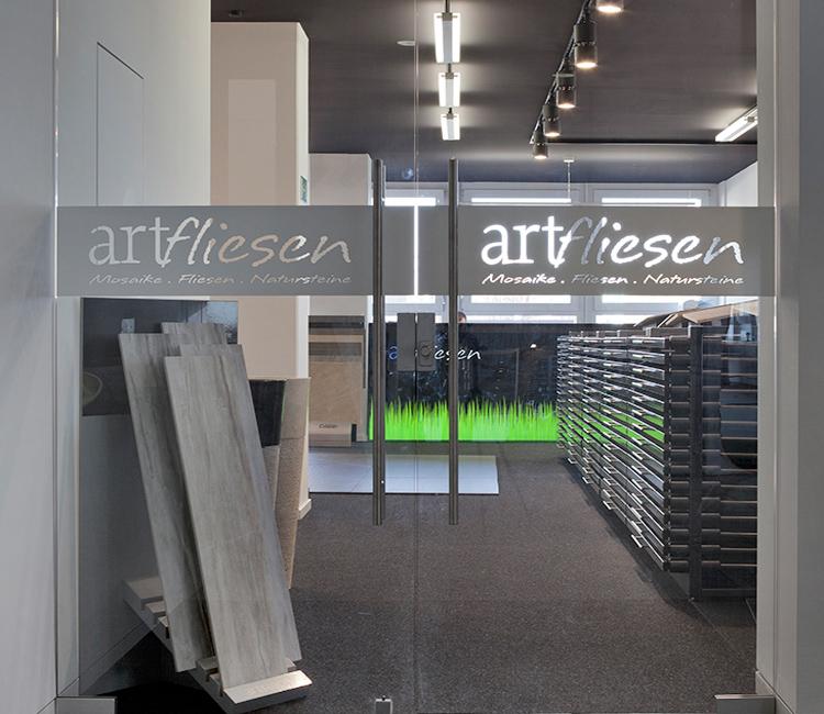 Fellbach - Fliesen-Atelier in der Ausstellung Eigenheim & Garten
